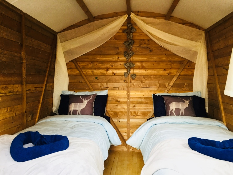 The beautiful new glamping pods arriving soon at Westdown Farm. Come and unwind in style whilst enjoying the luxury of glamping.